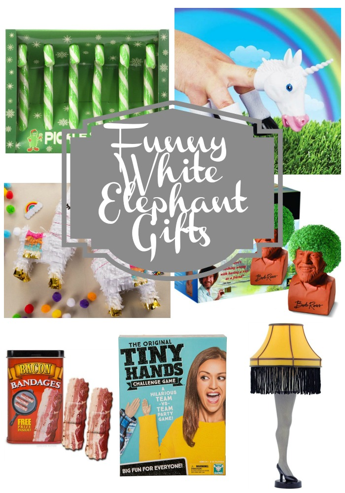 Funny White Elephant Gifts