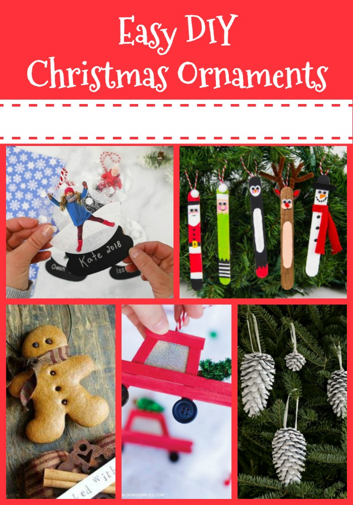Easy DIY Christmas Ornaments-Events to Celebrate