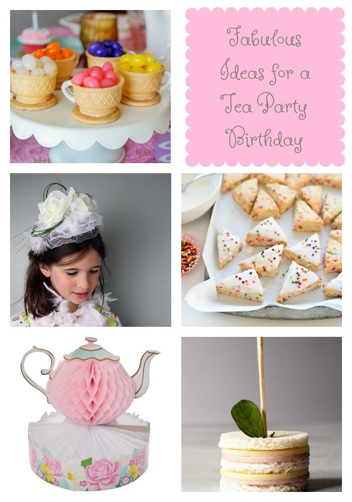 Fabulous Ideas for a Tea Party Birthday