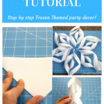 3D snowflake Tutorial winter craft step by step