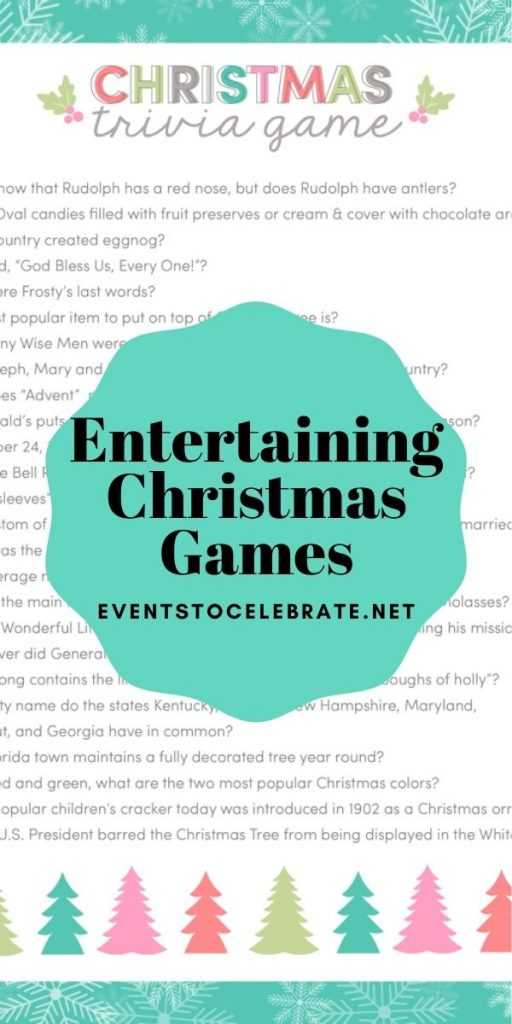 5 Entertaining Christmas Games