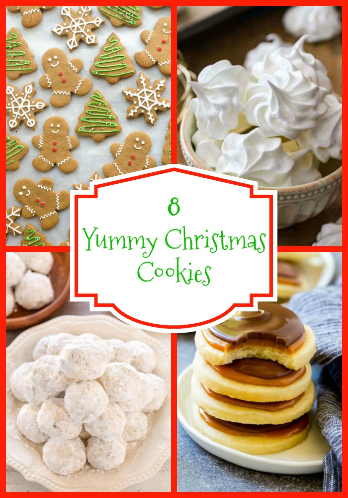 8 Yummy Christmas Cookies