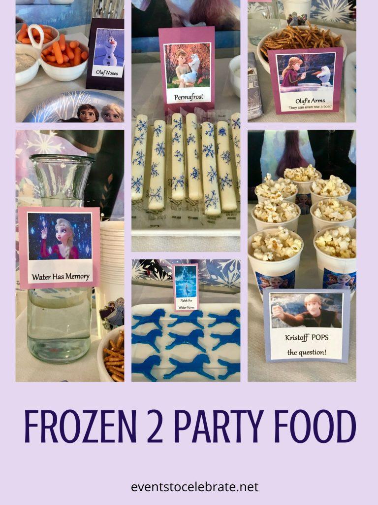 frozen 2 party food ideas