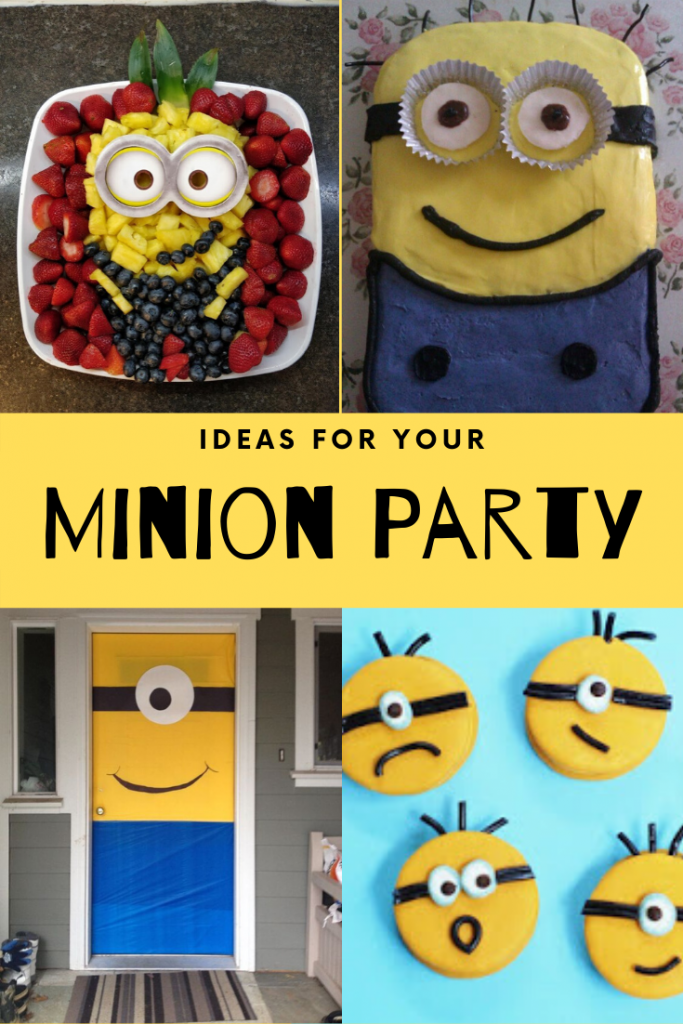 Ideas for Your Minion Party