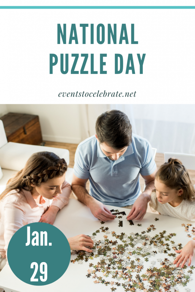 National Puzzle Day--January 29