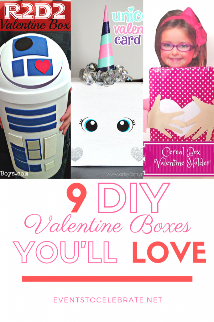 9 DIY Valentine Boxes
