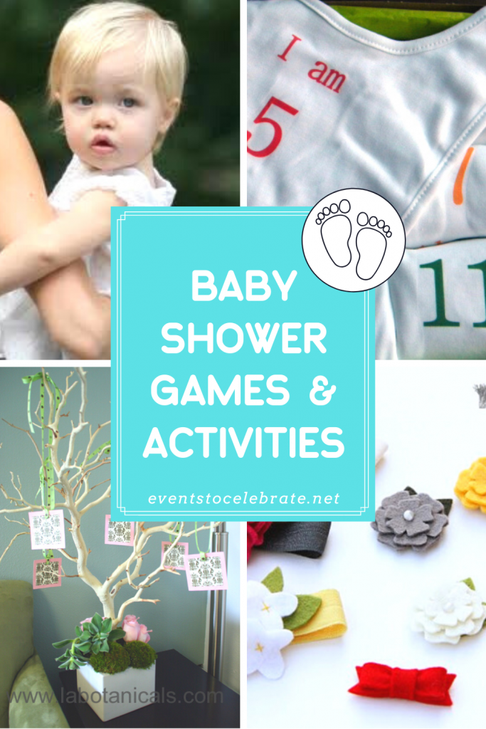 Baby shower games and activity ideas