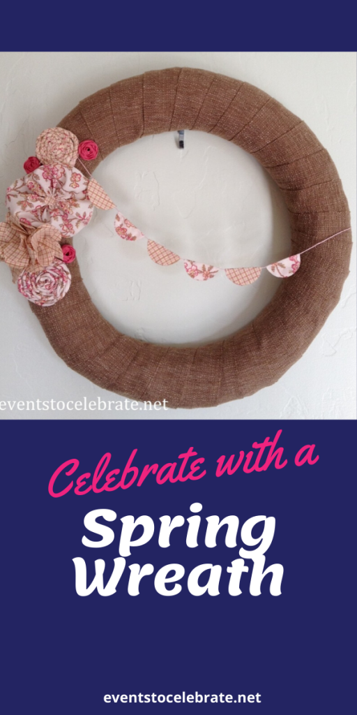 Celebrate with a Spring Wreath