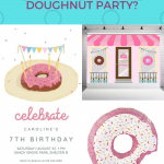 donut theme party