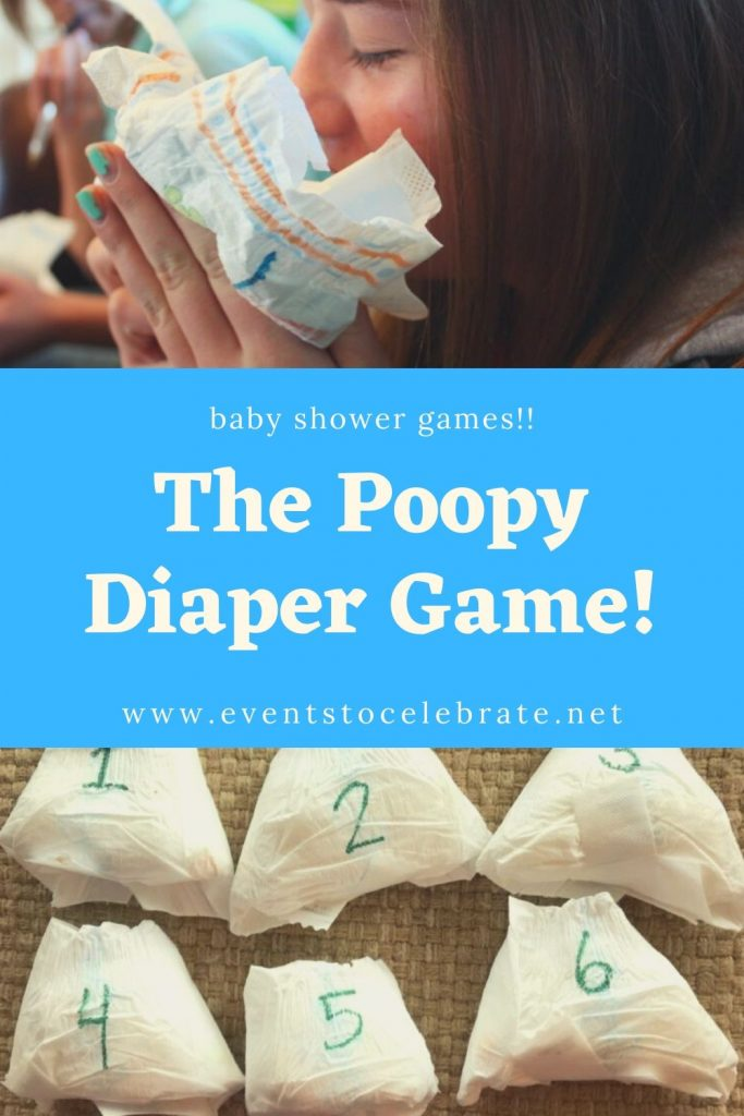 The poopy diaper game
