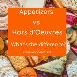 appetizers and hordouevres