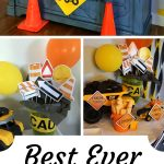 BEST EVER construction birthday party