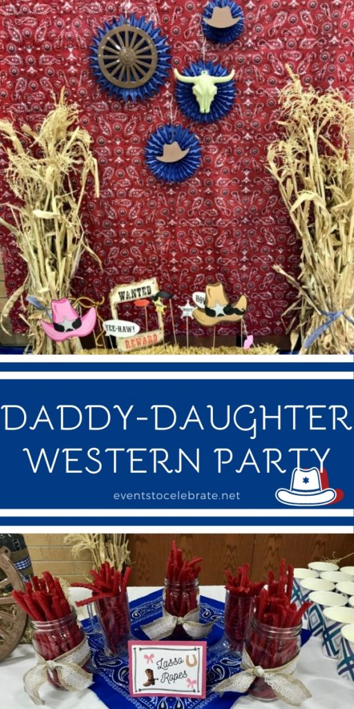 Daddy daughter western party