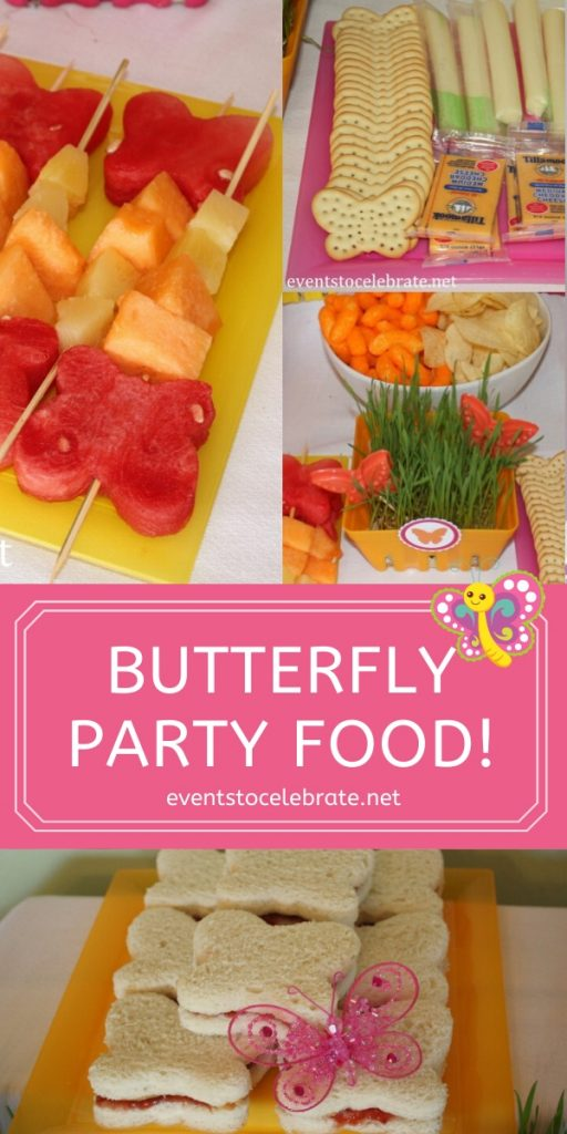 butterfly party food