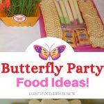 food ideas for a butterfly party