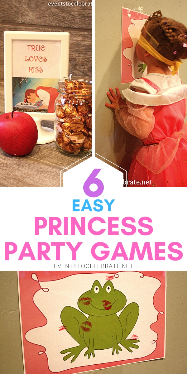 6 Fun and easy princess party games