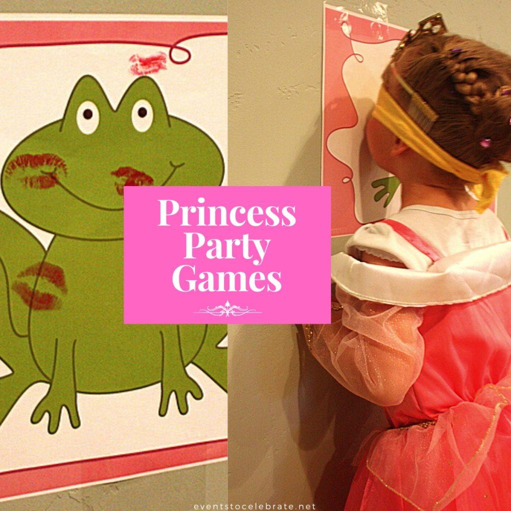 Disney princess party game ideas