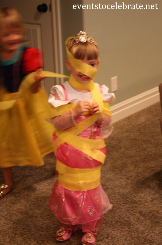 Disney princess party rapunzel game