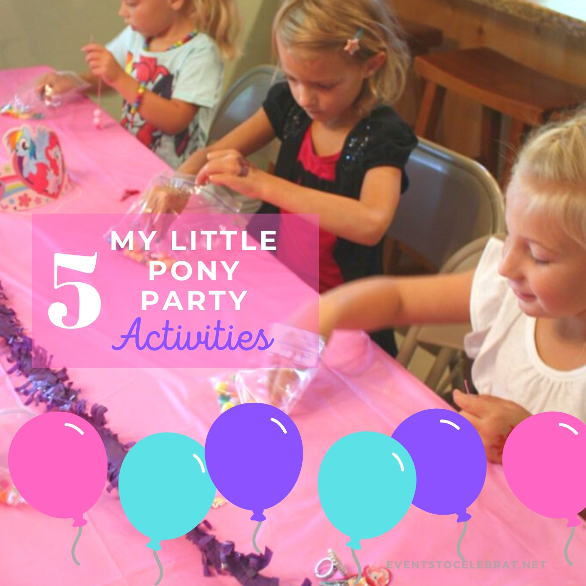 my little pony party activities and games
