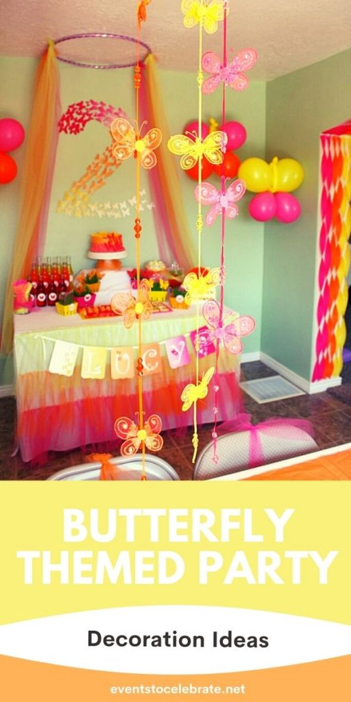 Girls Butterfly Party Decor