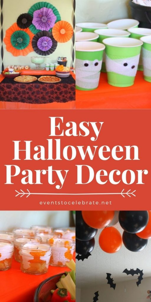 Cheap and easy halloween party decorations