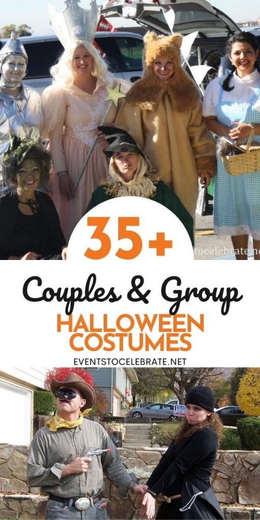 Costume ideas for couples and groups
