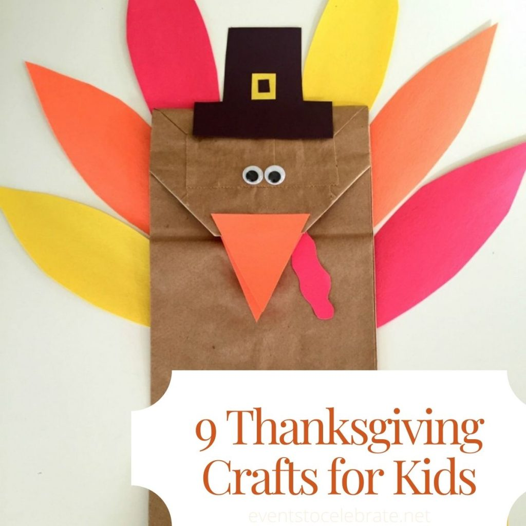 9 Thanksgiving crafts for kids thumbnail
