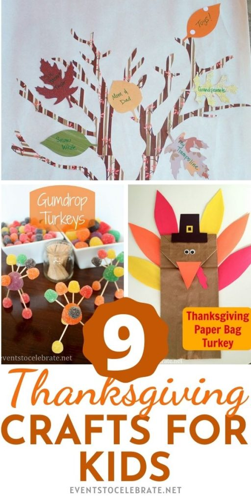 9 Thanksgiving crafts that are easy and fun for kids on Thanksgiving day