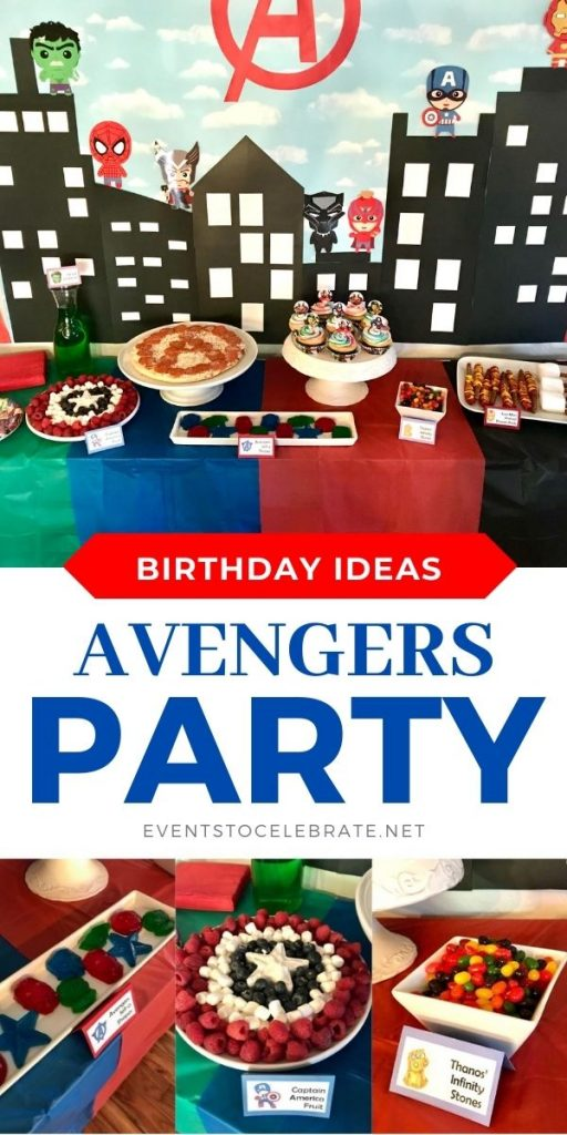Fun ideas for throwing an avengers birthday party