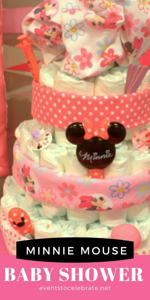 Minnie mouse baby shower ideas for decor games and food