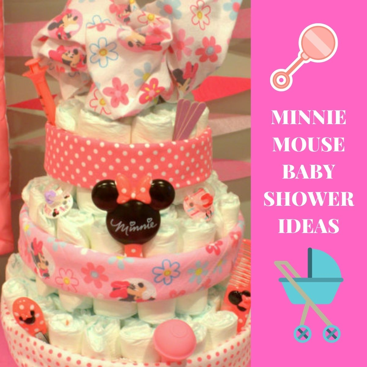 Minnie mouse baby shower thumbnail