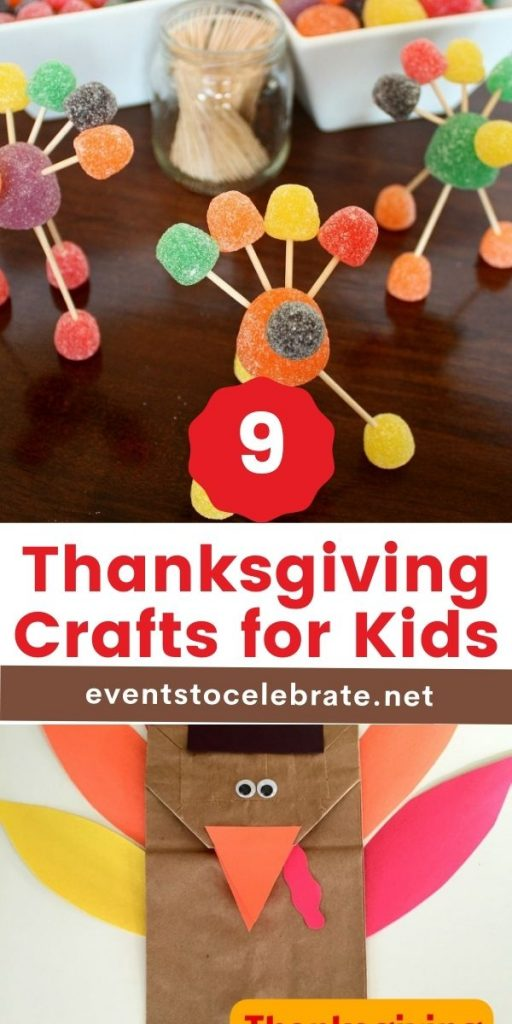 thanksgiving crafts that are fun for kids