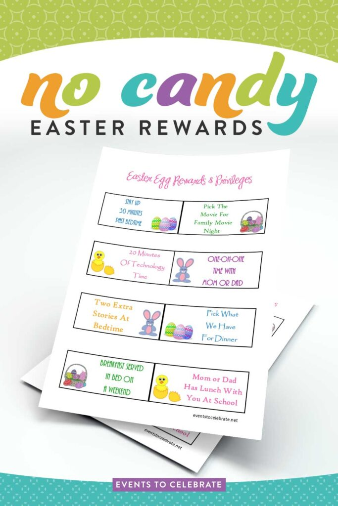 No-Candy-Easter-Rewards