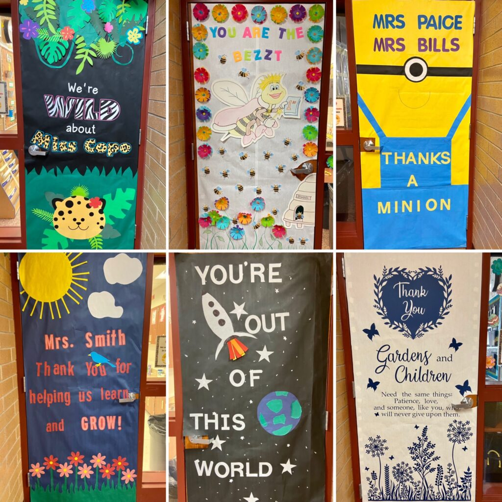Teacher Appreciation Decorations