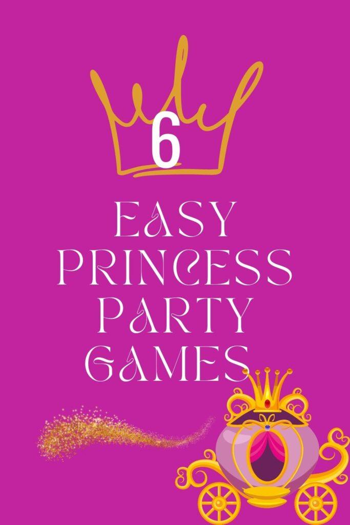 6 Disney Princess Birthday Party Games & Activities