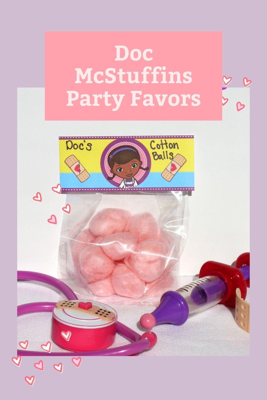 Doc Mcstuffins Party Favors