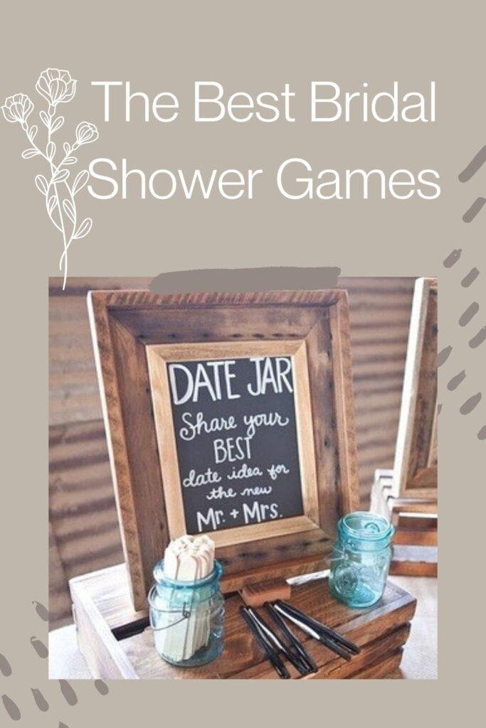 The Best Bridal Shower Games