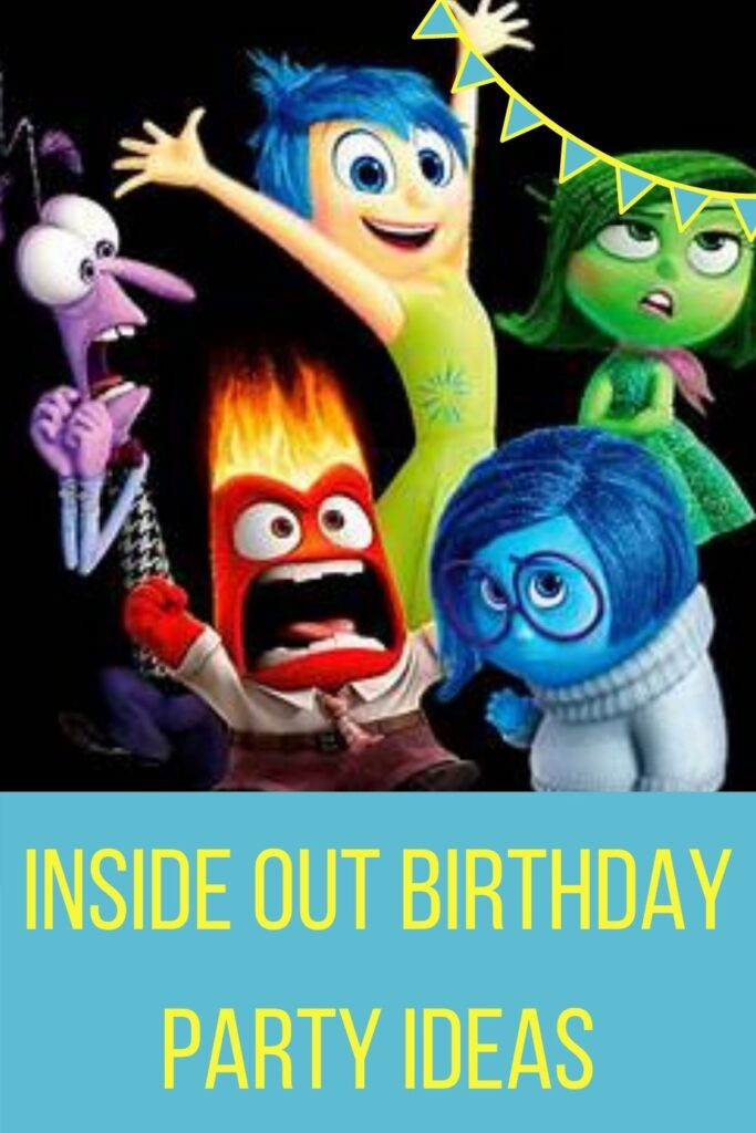 Inside Out Birthday Party Ideas