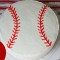 Easy Baseball Cake Tutorial